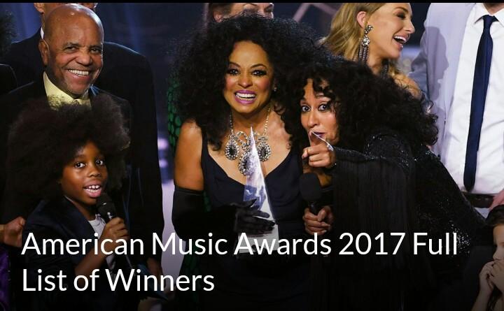 see-full-list-winners-at-ama2017-awards