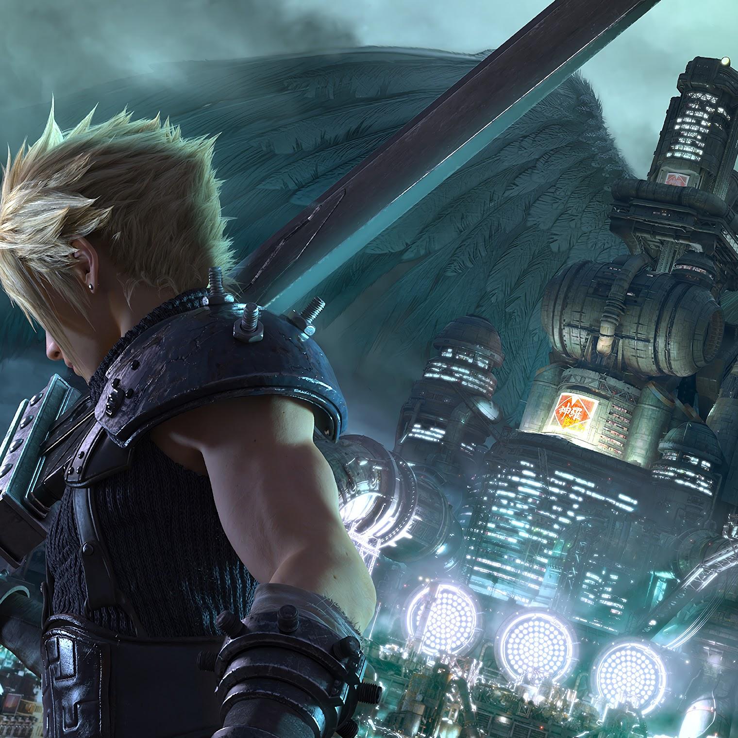Final Fantasy 7 Remake, Cloud Strife, Sephiroth, 4K, #4