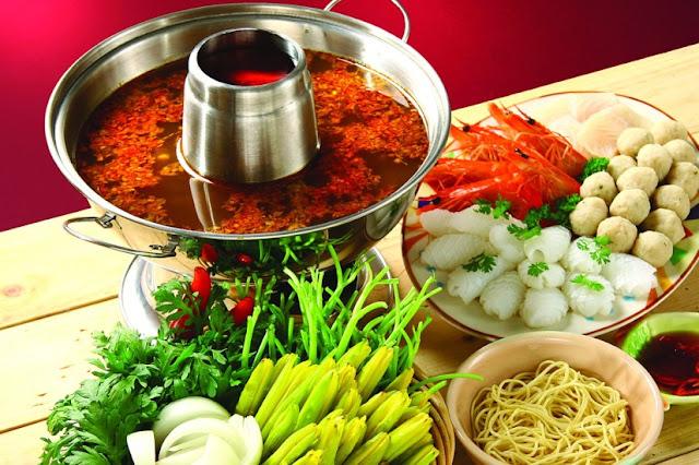 Cách làm món Lẩu Thái chua chua cay cay