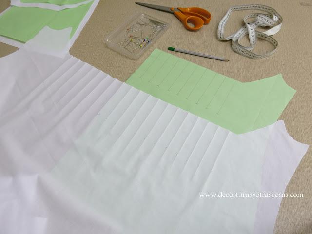 marcar pliegues con la plancha