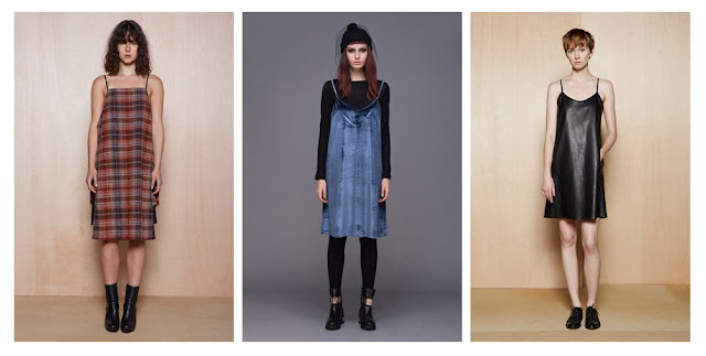 Платье-комбинация из шерсти, бархата и кожи
