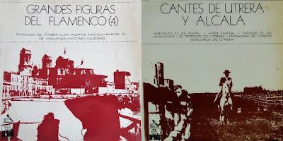 MANUEL DE ANGUSTIAS... Grandes cantaores del flamenco (4) Ariola