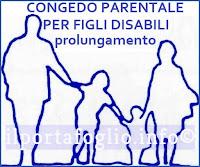 congedo parentale per figli disabili
