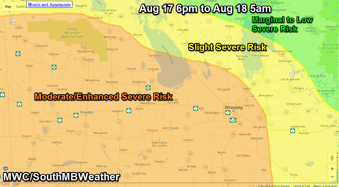 Mikes Southern Manitoba Weather Blog
