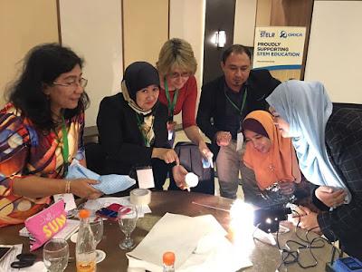 Kursus STELR -STEM Education di Bandung - Hari 04