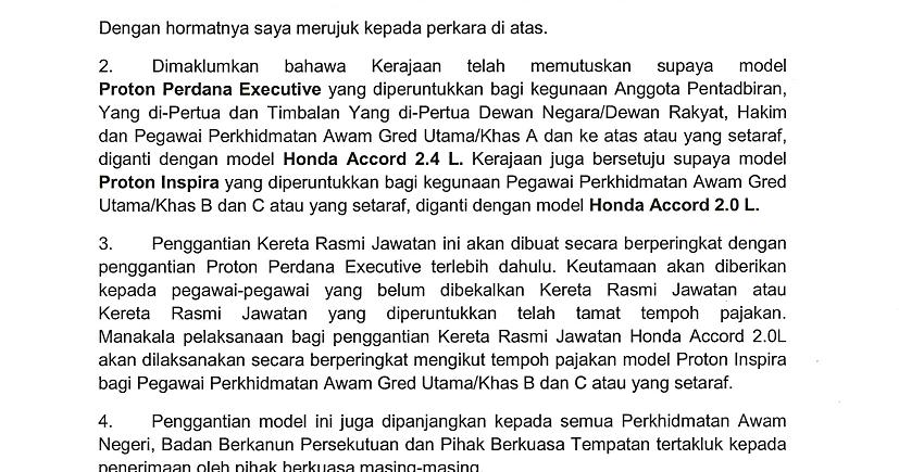 Contoh Surat Rasmi Sokongan Ketua Kampung - Rasmi F