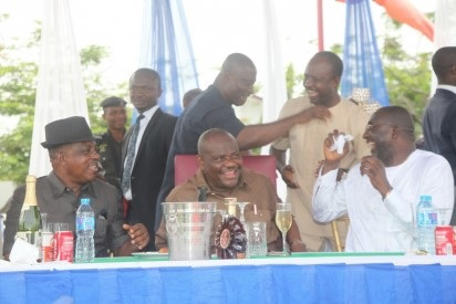 Photos: Ecstasy as Wike, Secondus, others celebrate PDP's victory at Rivers Re-run