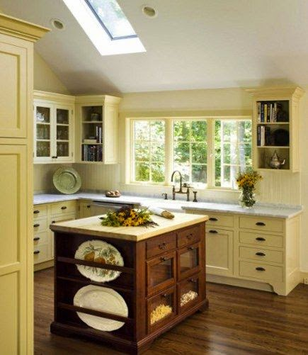 Pale Yellow Kitchen Cabinets: C.B.I.D. HOME DECOR And DESIGN: WHITE KITCHEN WITH GRAY