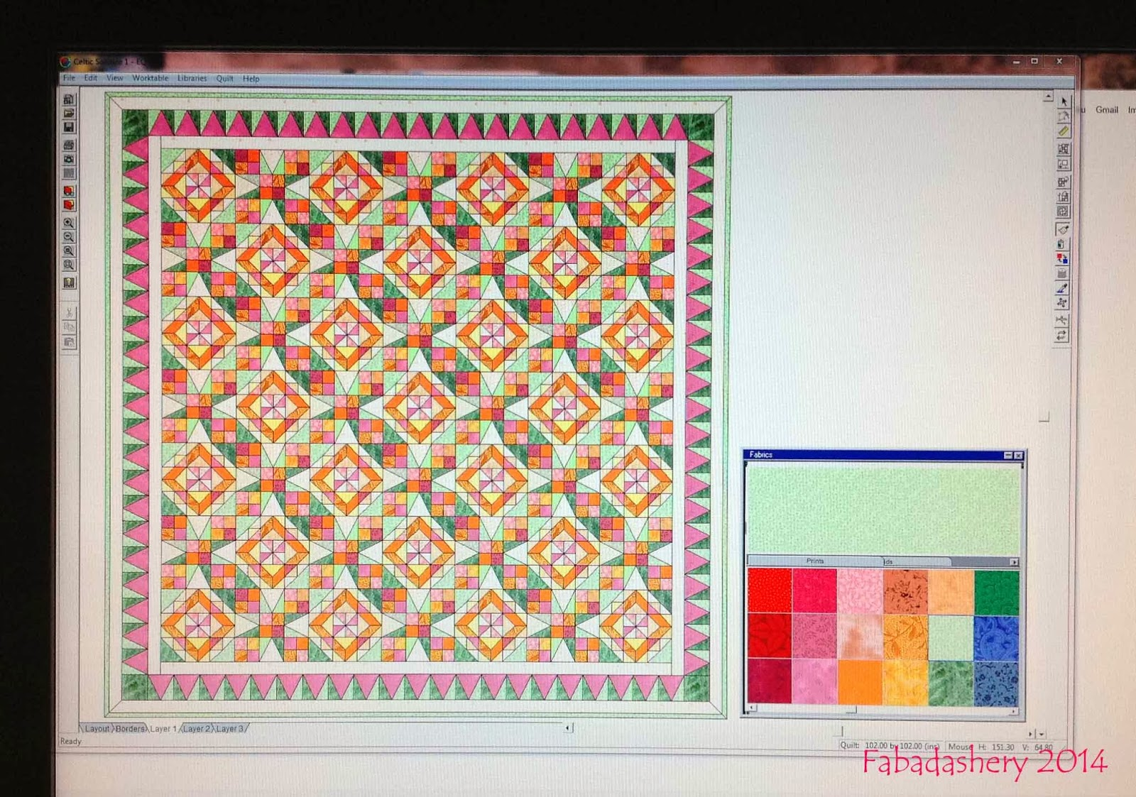 Fabadashery Part 6 Bonnie Hunter S Celtic Solstice Mystery Quilt 2013 The Big Reveal