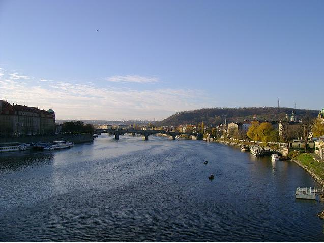 La hermosa ciudad de Praga