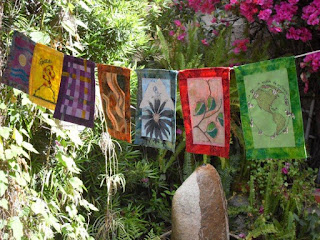 Bhavana Project prayer flags 2010
