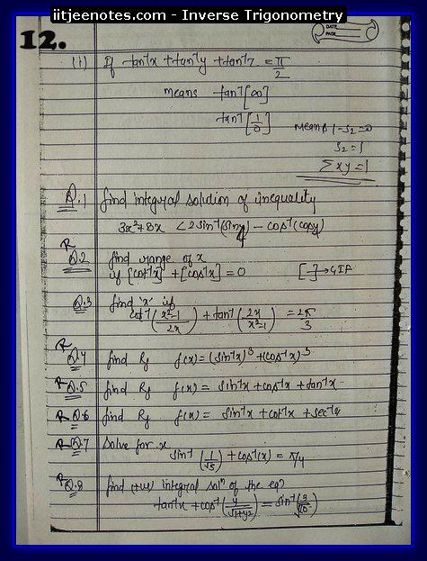 inverse trigonometry function6