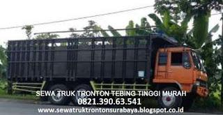 SEWA TRUK TRONTON SURABAYA TEBING TINGGI MURAH