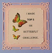I made Top 3 at Butterfly challenge