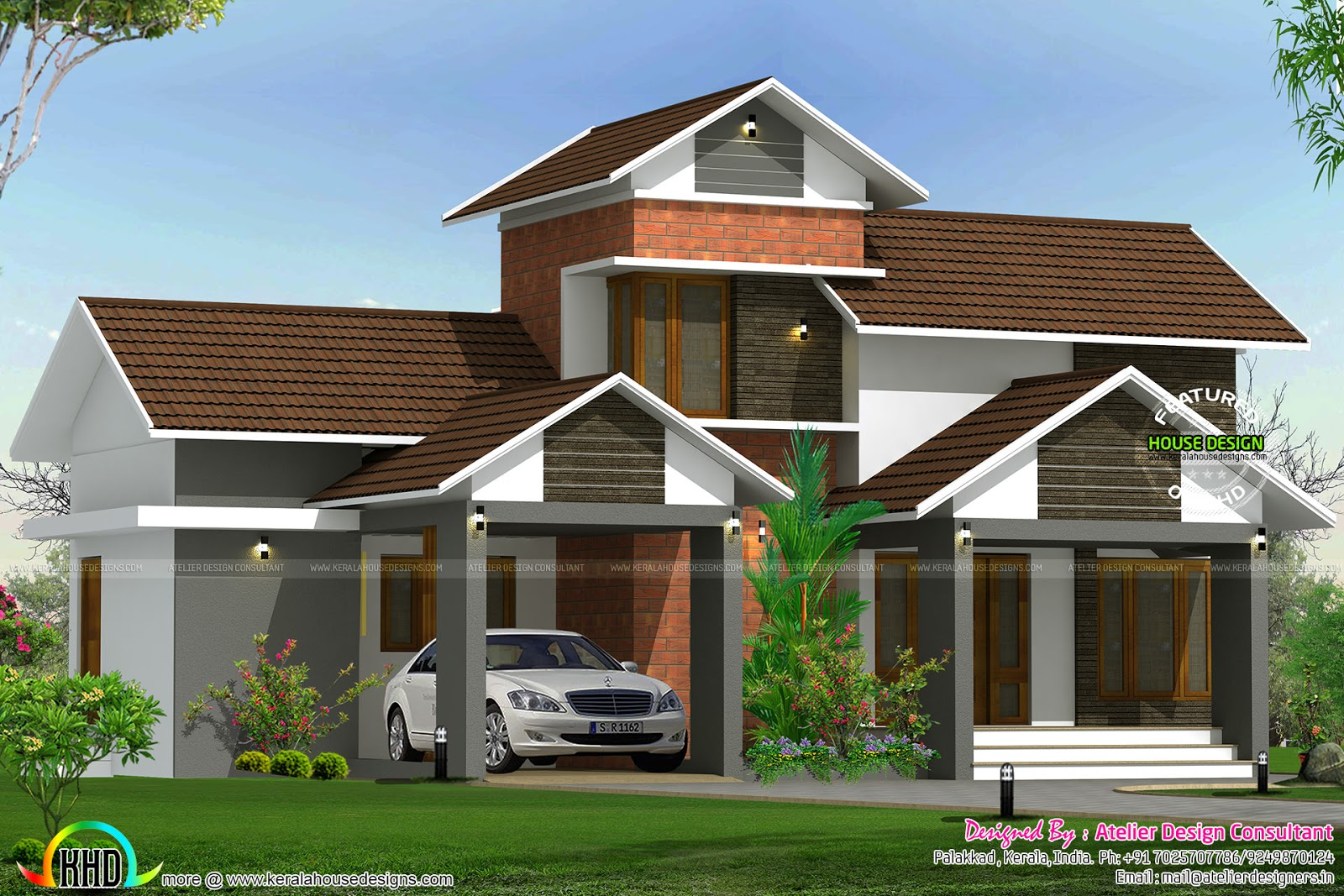 20 lakhs house plan kerala home design and floor plans for Home floor plans with estimated cost to build