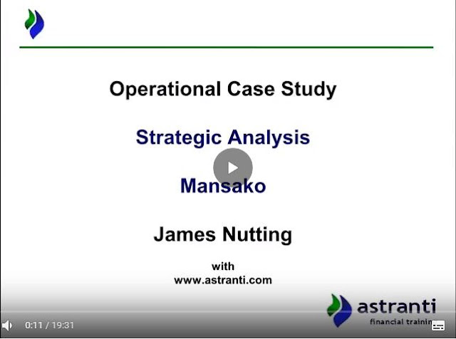 Strategic analysis video of OCS May 2018 - Mansako - CIMA Operational case study