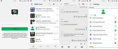 BBM MOD Oppo v1 Based BBM 2.12.0.11 Apk Terbaru