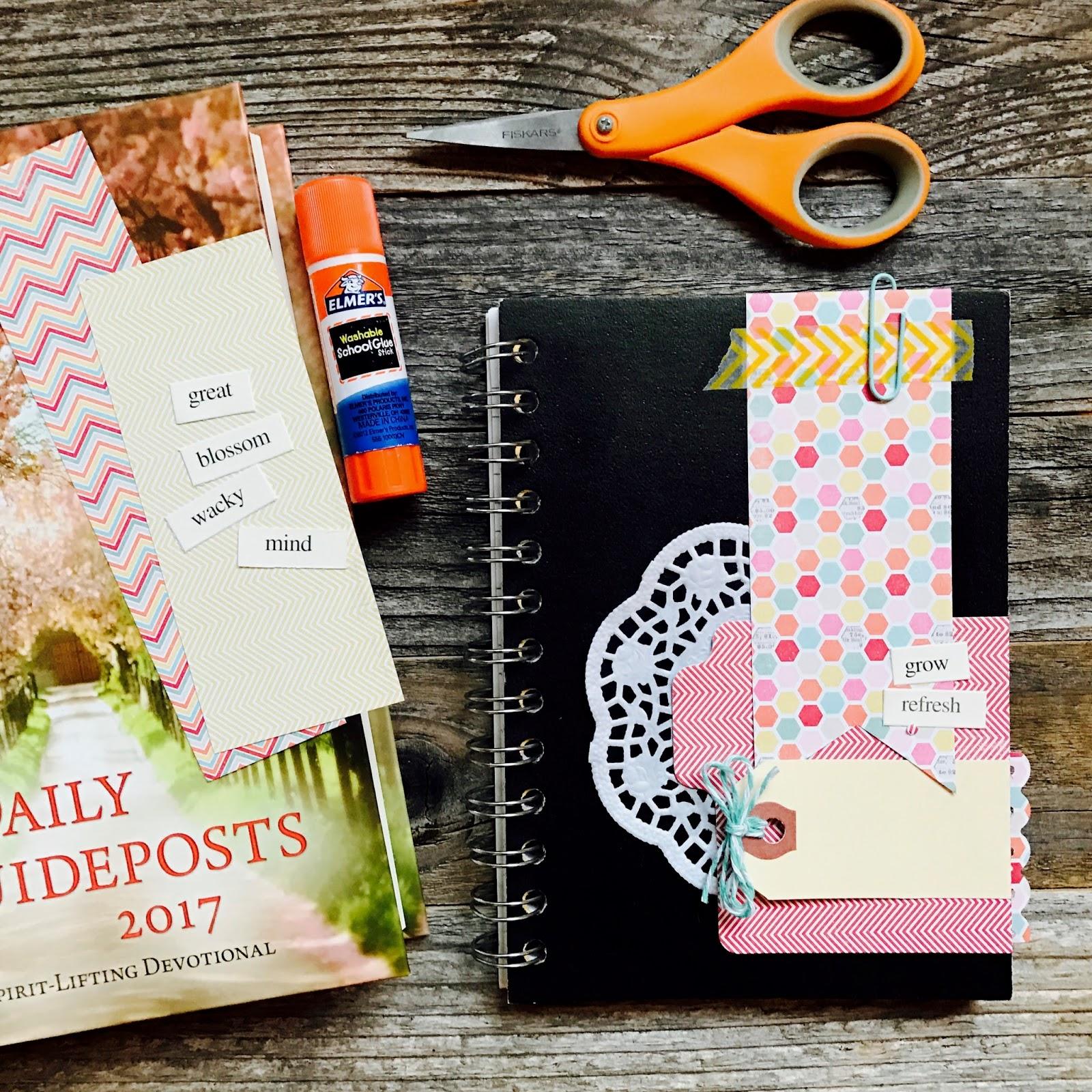 #journal #mini album #lists #notebook #devotional #iloveitall #papercraft