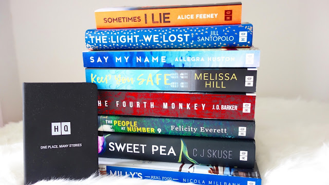 All the books from HQ, an imprint of Harper Collins