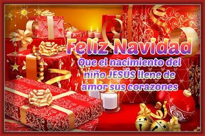 Imagen Con Frases Bonitas De Navidad Para Compartir