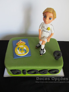 Real Madrid torta de cumpleaños