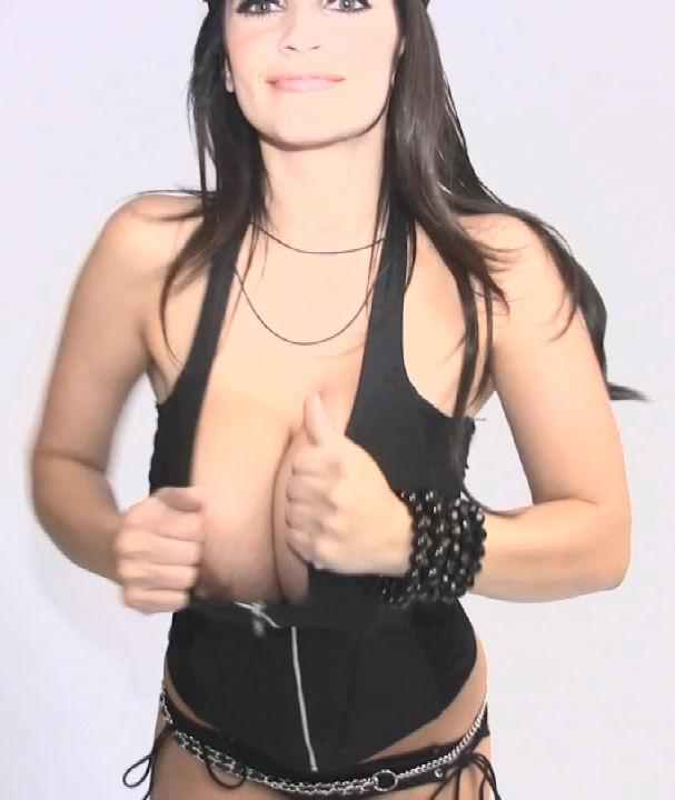 Milani boobs denise shows