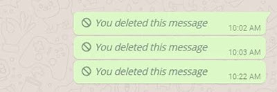 How to delete your whatsapp message for Everyone