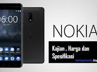 Harga Telefon Nokia 6 2017