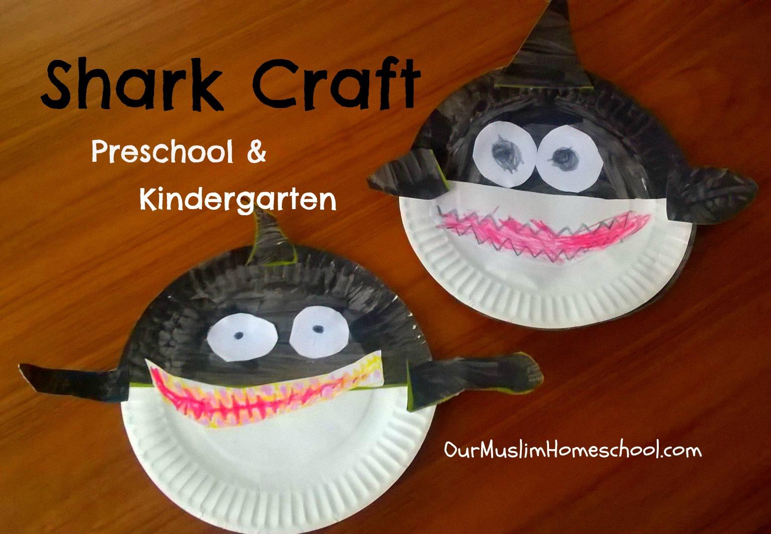 Shark Craft For Kindergarten And Preschool