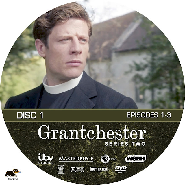 Grandchester Season 2 Disc 1 DVD Label