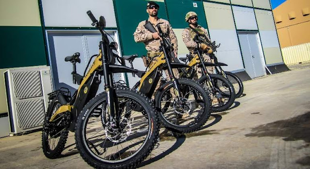 El Ejército del Aire incorpora bicicletas eléctricas para el SEADA