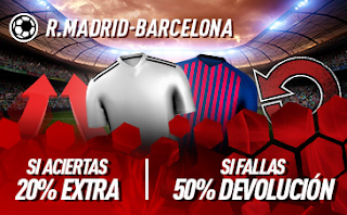 sportium Promo Real Madrid vs Barcelona 2 marzo 2019
