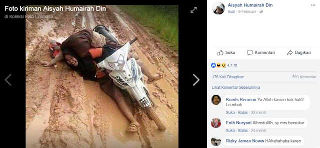 Video Viral Jalan Rusak Mukomuko, Bengkulu