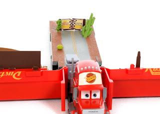 disney pixar cars mega mack playtown
