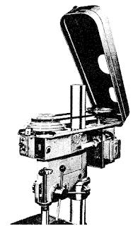 Drill press head ketika tutup dibuka