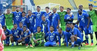 Formasi Pemain Persib Bandung vs Maung Ngora - Laga Uji Coba Skor Akhir 2-0