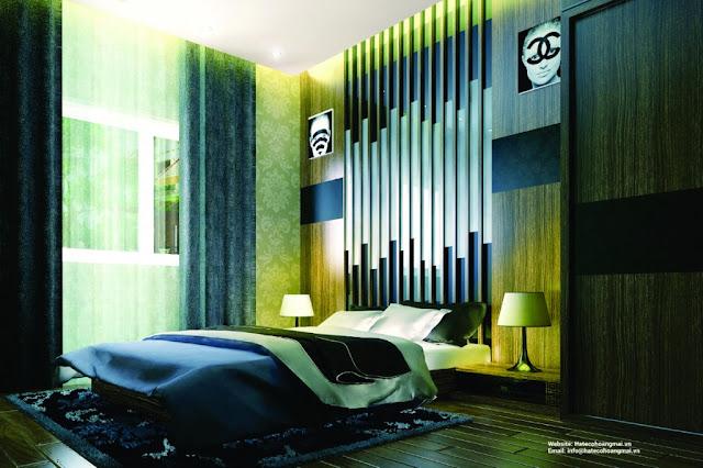 phòng ngủ hateco hoàng mai