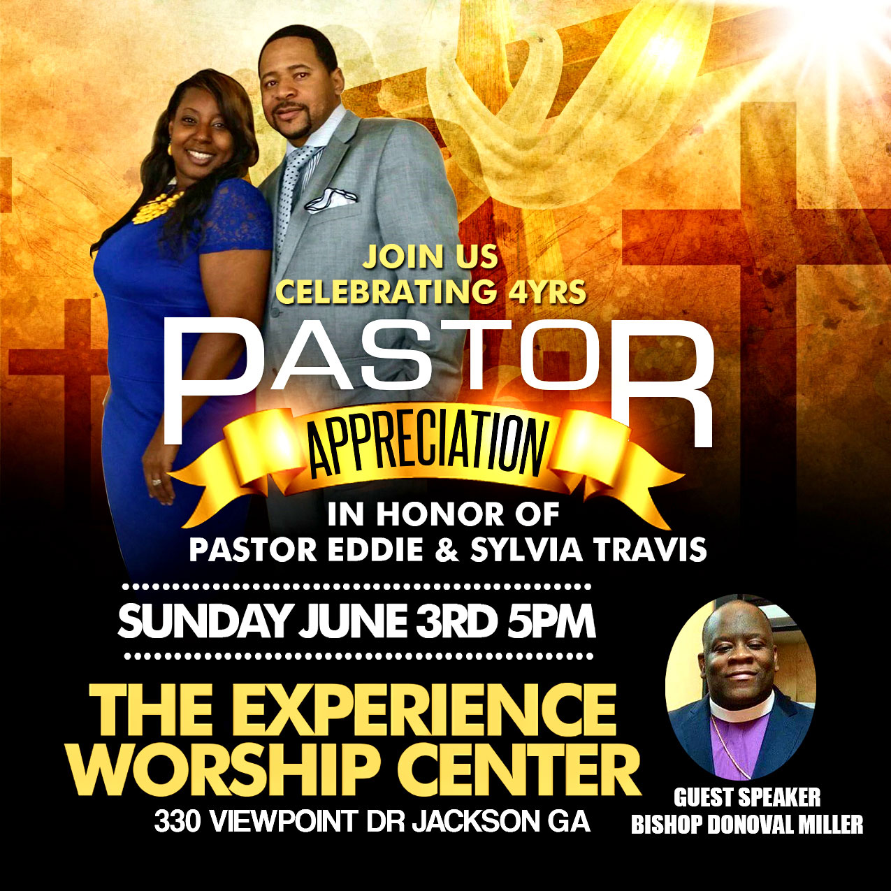 Pastor Appreciation Flyer Designed By Graphicwind
