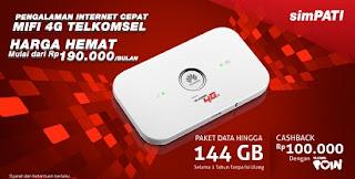 4G LTE, Cara Cek Kuota, Telkomsel,Paket Bundling Mifi