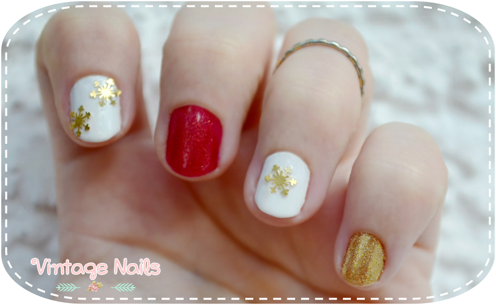 nail art, manicura, manicure, christmas nail art, china glaze, H&M