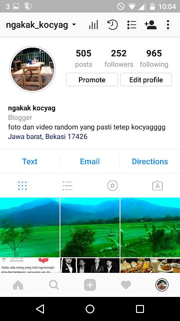 Cara Bikin Foto Instagram Menjadi Nyambung Dan Grid Rapih