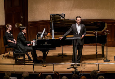 James Baillieu and Iestyn Davies at the Wigmore Hall, photo Clive Barda