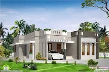 2 Bedroom Single Storey Budget House - Kerala Home Design