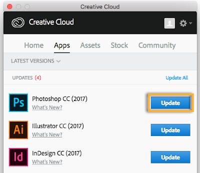 كيفية ترحيل الإعدادات المسبقة والإضافية والتفضيلات أثناء الترقية إلى إصدار جديد من Photoshop