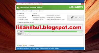 Macrorit Data Wiper Pro full version giveaway key