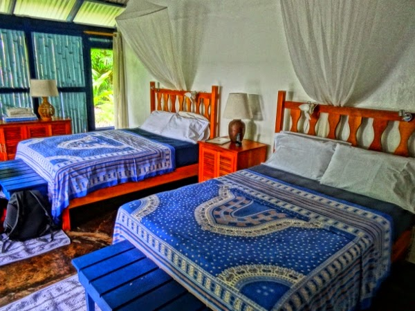 Beautiful rooms at Blue Osa in Costa Rica