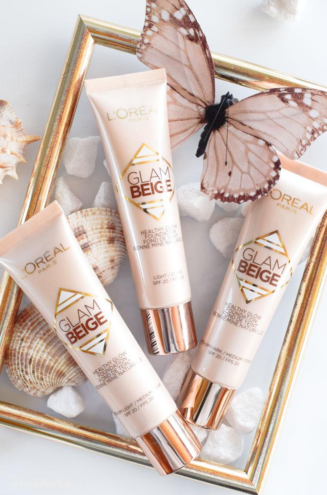 Die neue Glam Beige Healthy Glow Foundation von L'Oréal