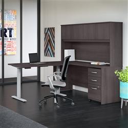 Modern Ergonomic Furniture in Storm Gray