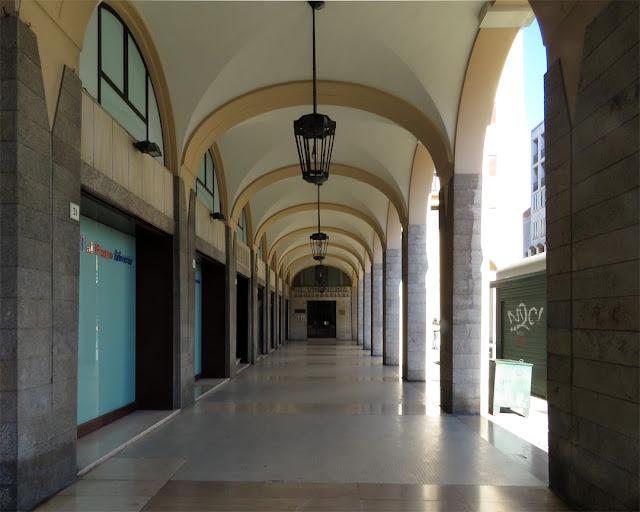 Porticoes in Piazza Grande, Livorno