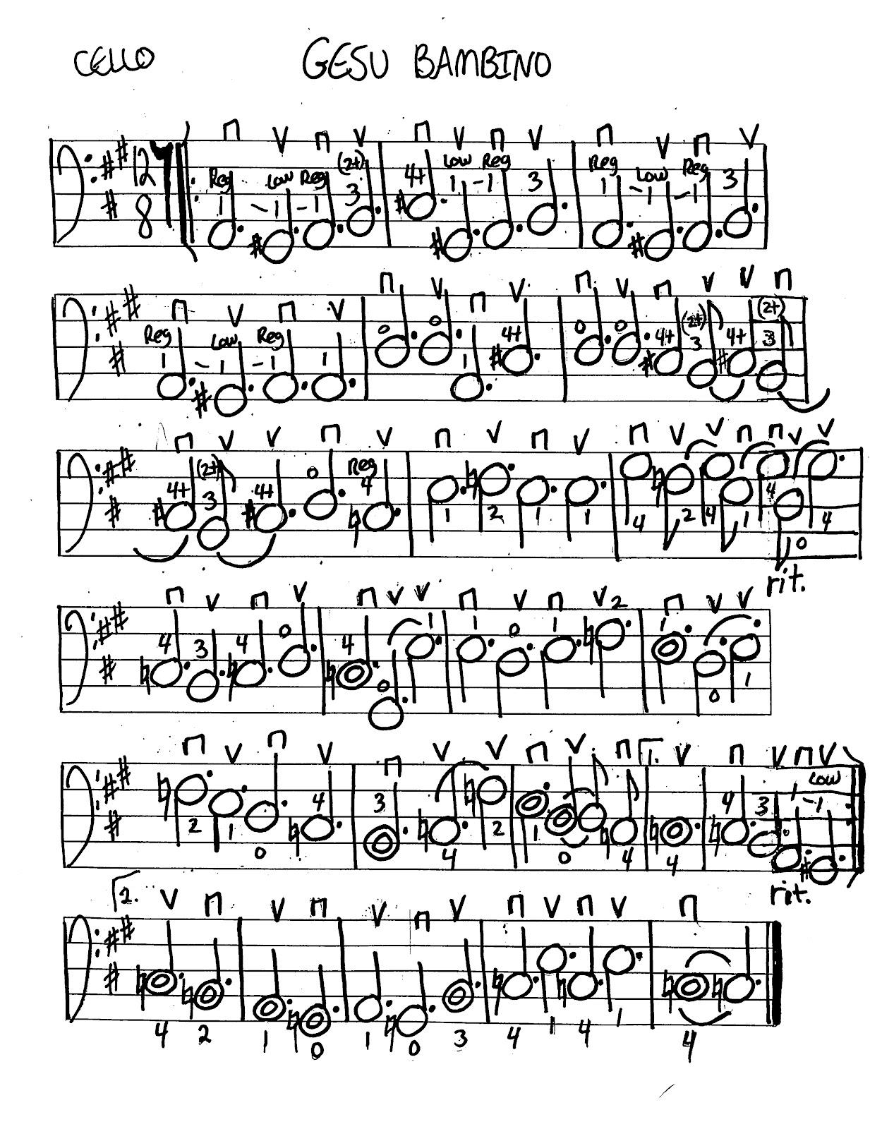Miss Jacobson S Music Gesu Bambino Music Worksheets